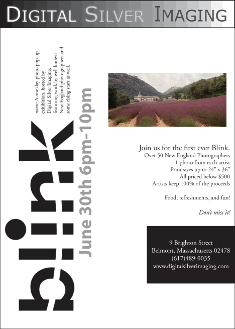 Blink – A Photography Pop-Up Exhibition